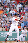 Adrian Gonzalez of the Boston Red Sox. (Photo by Joe Robbins)