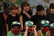 Bramlett Elementary students perform Wide Mouth Frogs in Oxford, Miss. on Friday, April 16, 2010.