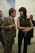 Nicky Haslam and Janet Street-Porter, Johnnie Shand Kydd:  book launch party celebrate the publication of Crash.White Cube. Hoxton sq. London. 18 September 2006. ONE TIME USE ONLY - DO NOT ARCHIVE  © Copyright Photograph by Dafydd Jones 66 Stockwell Park Rd. London SW9 0DA Tel 020 7733 0108 www.dafjones.com
