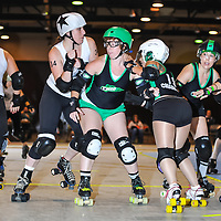 2014-08-16: Cincinnati Roller Girls at Louche Building - Ohio Expo Center in Columbus, Ohio. Dorn Byg/Byg Day LLC