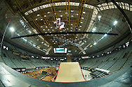 Rony Gomes during Skate Big Air Practice at the 2013 X Games Barcelona in Barcelona, Spain. ©Brett Wilhelm/ESPN