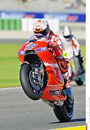 27 CASEY STONER AUSTRALIAN DUCATI MARLBORO TEAM DUCATI  MotoGP..18 GP Valencia (Circuit  R.Tormo 07 11 2010)..©Photo:PSP Stan Perec..