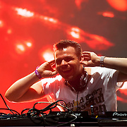 May 17, 2013 - Queens, NY : German DJ André Tanneberger, known as ATB, performs during the first day of the 2013 New York 'Electric Daisy Carnival,' an electronic dance music festival, at Citi Field in Queens, on Friday. CREDIT: Karsten Moran for The New York Times CREDIT: Karsten Moran for The New York Times