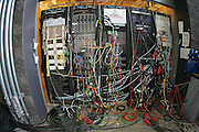 GLENDALE, AZ - JANUARY 8:  Television truck wires look like spaghetti at the FOX Sports telecast of the Ohio State Buckeyes game against the Florida Gators at the 2007 Tostitos BCS National Championship Game at the University of Phoenix Stadium on January 8, 2007 in Glendale, Arizona. The Gators defeated the Buckeyes 41-14. ©Paul Anthony Spinelli