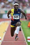 Will Claye (USA) places second in the triple jump at 58-3 (17.75m) during the Herculis Monaco in an IAAF Diamond League meet at Stade Louis II stadium in Fontvieille, Monaco on Friday, July 12, 2019. (Jiro Mochizukii/Image of Sport)
