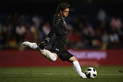 June 3, 2018 - Vila-Real, Castellon, Spain - Yann Sommer (Borussia Monchengladbach) during a International friendly match between Spain against Switzerland in La Ceramica Stadium, Villarreal, Spain, on 03 June of 2018. (Credit Image: © Jose Breton/NurPhoto via ZUMA Press)