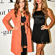 Tara Kari and Bree Power attend Fashion Scout SS20 - Ones To Watch - Day 1 at London Fashion Week - Day 1 on 13 September 2019, London, UK