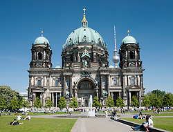 The Cathedral or Dom on Museum Island in Mitte Berlin Germany