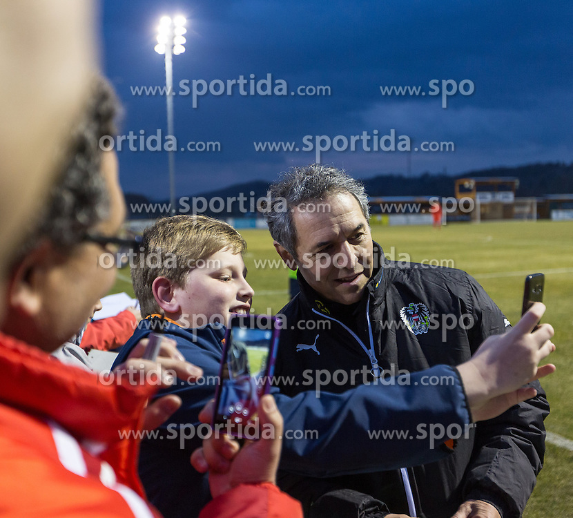 22.03.2016, Sportzentrum, Stegersbach, AUT, OeFB Training, im Bild Trainer Marcel Koller ( AUT) // Coach Marcel Koller ( AUT) during a Trainingssession of Austrian National Footballteam at the Sportcenter in Stegersbach, Austria on 2016/03/22. EXPA Pictures © 2016, PhotoCredit: EXPA/ Dominik Angerer