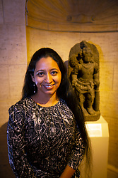 """Harleen Singh, writer, director and producer of """"Drawn Together,"""" poses for a photo at the Gala for the CAAM Film Festival, at the Asian Art Museum, Thursday, May 10, 2018 in San Francisco, Calif. (D. Ross Cameron/SF Chronicle)"""