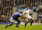 Twickenham, GREAT BRITAIN, Ben FODEN attacking with the ball during the Investec,  Autumn International, Challenge Series, England vs Samoa, at Twickenham Stadium, Surrey on Saturday  20/11/2010   [ Mandatory Credit, Peter Spurrier/Intersport-images]