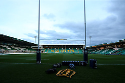 A general view of Franklin's Gardens ahead of England U20 v Scotland U20 - Mandatory by-line: Robbie Stephenson/JMP - 15/03/2019 - RUGBY - Franklin's Gardens - Northampton, England - England U20 v Scotland U20 - Six Nations U20