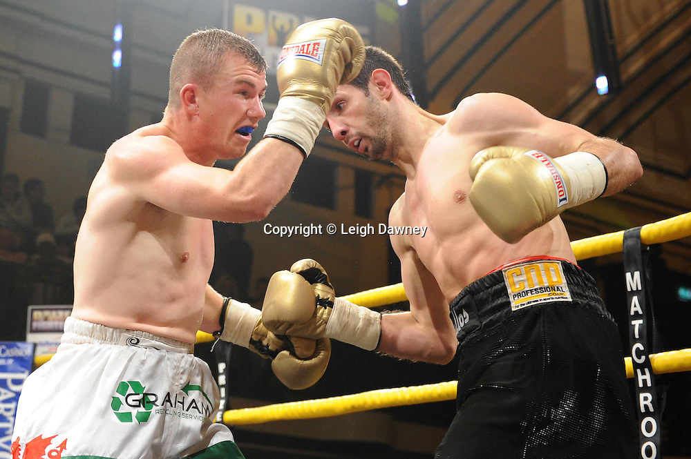 Gary Buckland defeats Stevie Bell At Prizefighter York Hall London 20.11.10. Photo credit © Leigh Dawney 2010