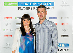 Marko Simeunovic at Players Roof Party during Day 5 of ATP Challenger Tilia Slovenia Open 2014 on July 11, 2014 in Hotel Kempinski, Portoroz / Portorose, Slovenia. Photo by Vid Ponikvar / Sportida