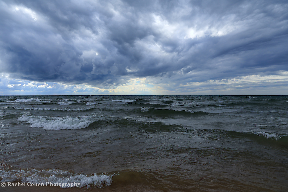 &quot;Lake Michigan in Motion&quot;<br />