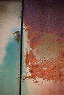 USA, Southwest,Colorado Plateau, Utah, Rusty car door