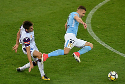 November 24, 2017 - Melbourne, Victoria, Australia - MARCIN BUDZINSKI (27) of Melbourne City is fouled in the round eight match of the A-League between Melbourne City and Perth Glory at AAMI Park, Melbourne, Australia. Perth won 3-1 (Credit Image: © Sydney Low via ZUMA Wire)