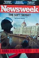 Newsweek Cover /Mumbai Terror Attacks 2008. <br />