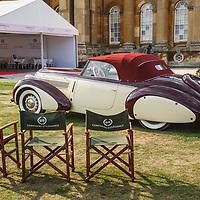 1938 Steyr 220 Gläser Roadster at the Salon Privé, 31 August - 1 September 2018
