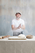 Executive Chef Craig Crosby making bread. Photo by Brandon Alms Photography
