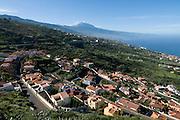 Little town before the Volcano El Teide, Unesco World Heritage,Canary islands,Spain,Teneriffa