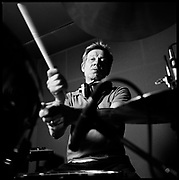 Drummer Paul Cook of the Sex Pistols, London, UK, 2008.