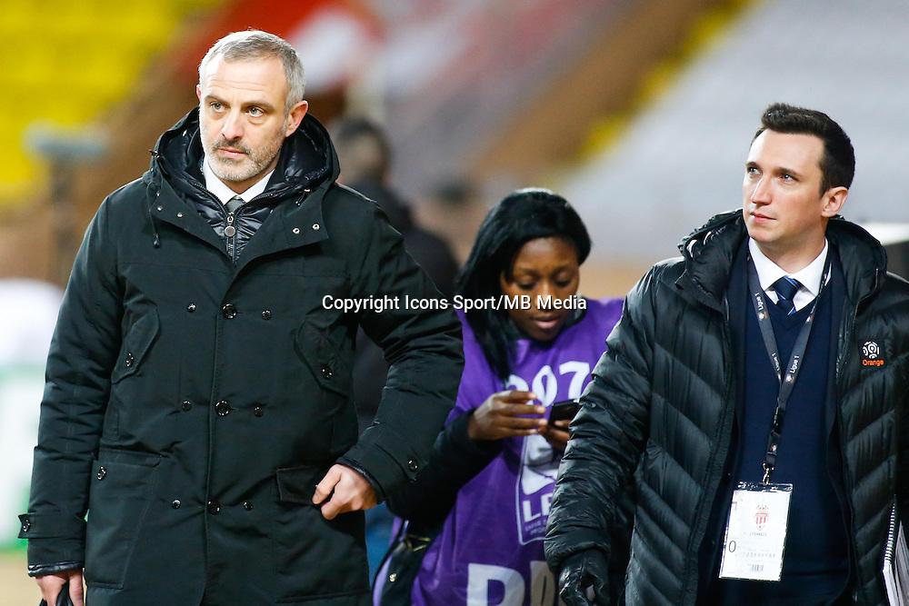 Alain Roche  - 01.02.2015 - Monaco / Lyon - 23eme journee de Ligue 1 -<br /> Photo : Serge Haouzi / Icon Sport