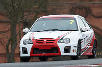 #7 Stephen WILLIAMS MG ZR 1800 during Lancaster Insurance MG Owners Club Championship as part of the BARC NW - Championship Raceday  at Oulton Park, Little Budworth, Cheshire, United Kingdom. March 19 2016. World Copyright Peter Taylor/PSP. Copy of publication required for printed pictures.  Every used picture is fee-liable. http://archive.petertaylor-photographic.co.uk