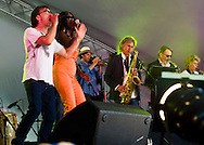 Staxs at Cornbury Festival July 2013