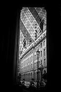 London. UK. Swiss Re Tower architect Norman fioster , in the city financial district of london / la tour Swiss Re par l architecte anglais Norman foster  , dans le quartier financier de la city
