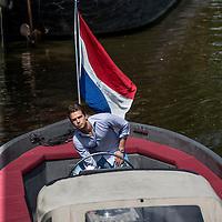 Nederland, Amsterdam, 21 juli 2016.<br /> Nick Gelevert, oprichter Boatsters, airbnb voor boten<br /> <br /> <br /> <br /> Foto: Jean-Pierre Jans