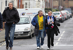 Bristol Rovers Fans - Mandatory byline: Paul Terry/JMP - 13/02/2016 - FOOTBALL - Fratton Park - Portsmouth, England - Portsmouth v Bristol Rovers - Sky Bet League Two