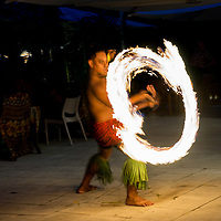Ailao Afi or fire knife dancing is a traditional Samoan ceremonial dance.  Siva Afi or fire knife dancers twirl a knife and do acrobatic stunts.  Towels are set on fire during the dance.