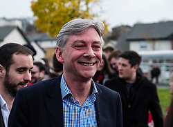 Rutherglen, Scotland, United Kingdom. 19 November, 2017. Scottish Labour Party MSPs, MPs and activists celebrate with their new Leader, Richard Leonard at Fernhill Community Centre in Rutherglen. Richard Leonard beat fellow MSP Anas Anwar for the Leadership.