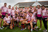 rugby club pink strip