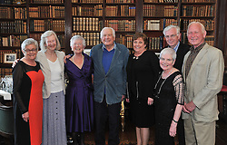 Pictured at the launch of 'A Life at Westport House - 50 Years A Going by Jeremy Altamont' were from left Mary McNeela Jennifer Browne, Ann Colbert, Jeremy Browne, Eileen and Liam Fahy, Nora and Tommy Heraty.<br /> Pic Conor McKeown