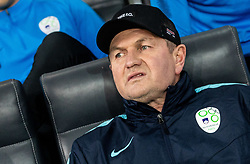 Matjaž Kek, head coach of Slovenia during football match between National teams of Slovenia and North Macedonia in Group G of UEFA Euro 2020 qualifications, on March 24, 2019 in SRC Stozice, Ljubljana, Slovenia. Photo by Vid Ponikvar / Sportida