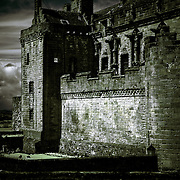 This image is of the east facing part of Stirling Castle. Stirling, Scotland.