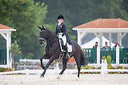 Nastassja Roussel - Armageddon<br /> FEI European Dressage Championships for Young Riders and Juniors 2013<br /> © DigiShots
