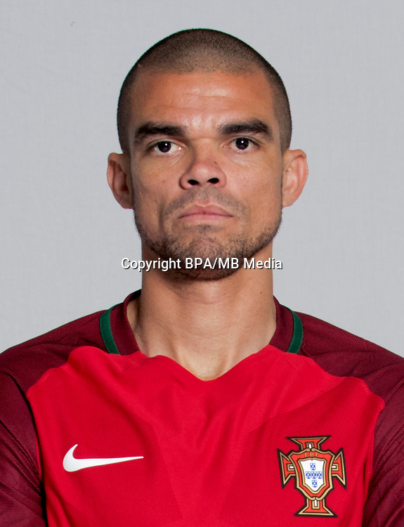 Uefa - World Cup Fifa Russia 2018 Qualifier / <br /> Portugal National Team - Preview Set - <br /> Kepler Laveran Lima Ferreira - Pepe
