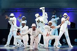 """©under licence to London News Pictures. Inspirational ´dance troupe """"Flawless"""", former Britain's Got Talent finalists, performing """"Chase the Dream"""" at the Peacock Theatre, London until 28 May 2011. 11/05/2011. Photo credit should read Bettina Strenske/LNP."""