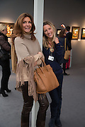 LAURA DE JONCKHEERE; CAROLE DE JONKHEERE, VIP Opening of Frieze Masters. Regents Park, London. 9 October 2012
