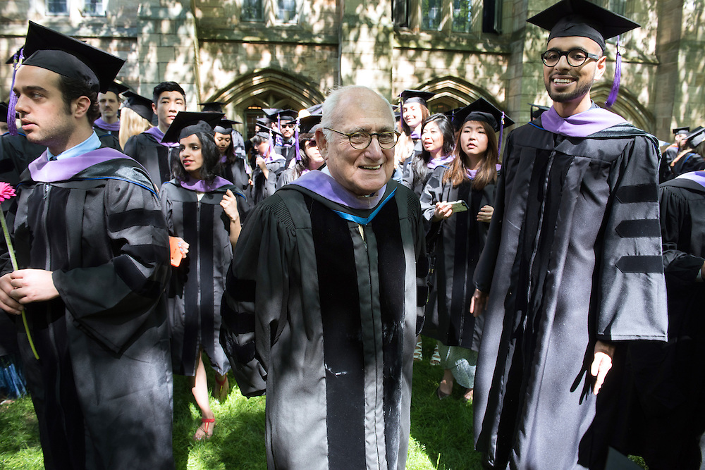 May 23, 2016 New Haven<br /> The Yale University commencement exercises. Architecture dean Robert A.M. Stern.