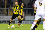 Burton Albion midfielder Tom Naylor wins the ball in midfield during the Sky Bet League 1 match between Burton Albion and Crewe Alexandra at the Pirelli Stadium, Burton upon Trent, England on 20 October 2015. Photo by Aaron Lupton.
