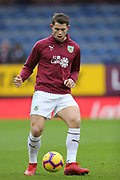 5 James Tarkowski for Burnley FC during the Premier League match between Burnley and Fulham at Turf Moor, Burnley, England on 12 January 2019.