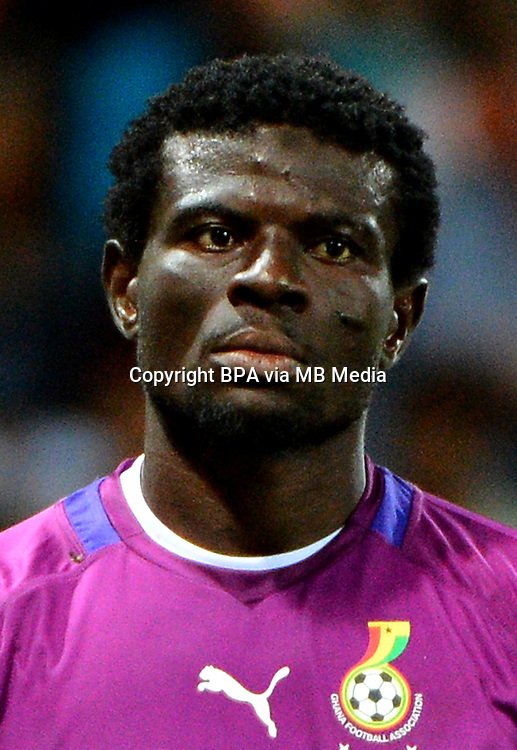 CAF_Africa Cup of Nations - South Africa 2013 / Semifinal / <br /> Burkina Faso vs Ghana 1-1 / 4-3 Aps  ( Mbombela  Stadium - Nelspruit , South Africa ) <br /> Abdul Fatawu Dauda of Ghana , on action during the match between Burkina Faso and Ghana