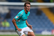 Forest Green Rovers Christian Doidge(9) during the EFL Sky Bet League 2 match between Bury and Forest Green Rovers at the JD Stadium, Bury, England on 18 August 2018.