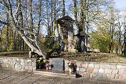 Burial site of the Turaida Rose, near Sigulda, Latvia