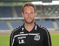 German Soccer Bundesliga 2015/16 - Photocall of Hannover 96 on 13 July 2015 in Hanover, Germany: Videoanalyst Lars Barlemann