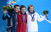 Alpine Skiing Downhill, Mens - Medal Ceremony